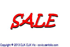 Sale Sign,photo,clik clik vic