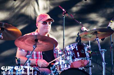 Photo of the Drummer with Marshall Dane. Photo credit ccvic.zenfolio.com