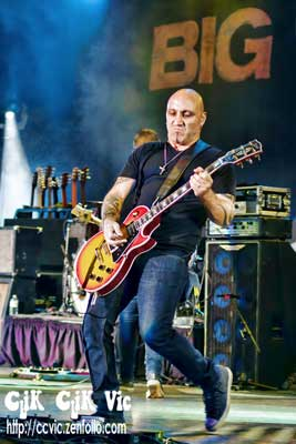 Photo of Paulo Neta on Lead Guitar with Big Wreck. Photo credit ccvic.zenfolio.com