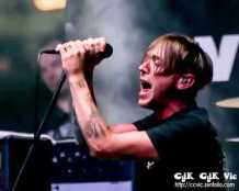 Photo of Billy Talent performing at NXNE 2013. Photo credit Vincent Banial and Uniquely Toronto