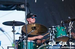 Photo  of the Paul James Band performing at the CNE Midway Stage on Aug 18 2014. Photo credits CLiK CLiK VIc