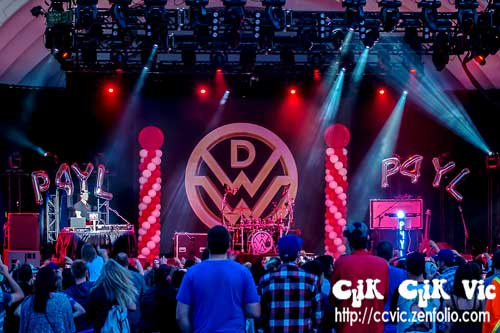 Photo of the Down With Webster concert at the CNE Bandshell on Aug 15 2014. Photo Credit Vincent Banial