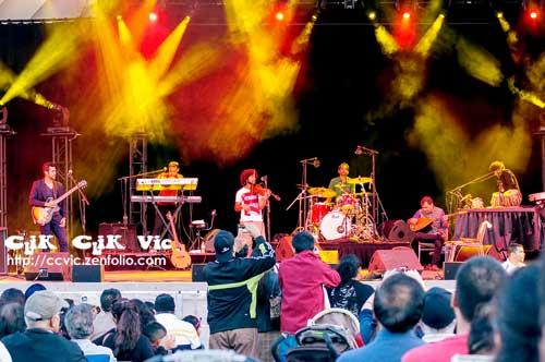 """Photos of the Kailash Kher and his band """"Kailasa"""" performing at the CNE Bandsell on Aug 17 2014. Photo Credits CLiK CLiK Vic"""
