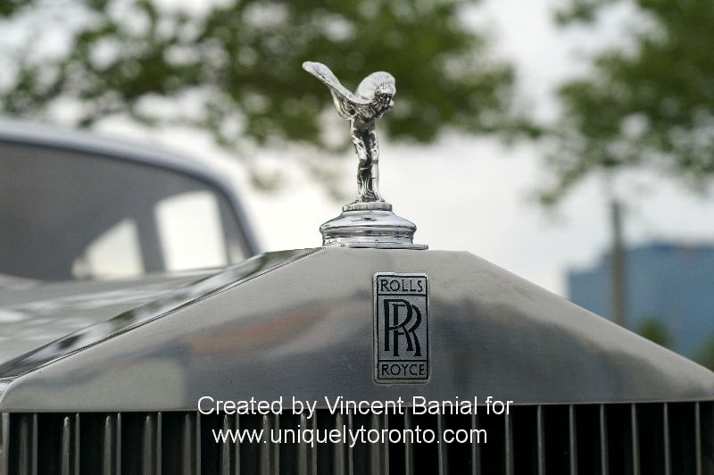 Photo of a classic Rolls Royce at Woodbridge Cruise Night May 18 2015. Photo credit Vincent Banial