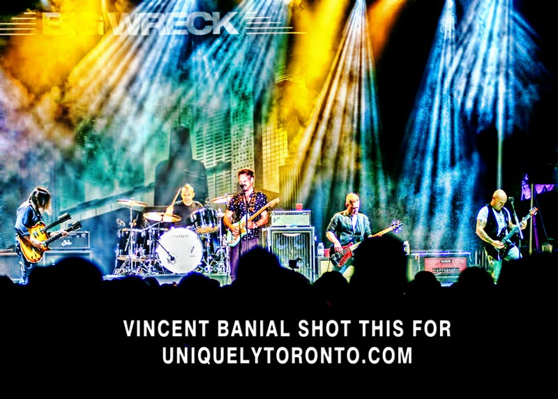 "Photo of the ""Big Wreck"" concert  at WTFest in Brantford.  Photo credit Vincent Banial"