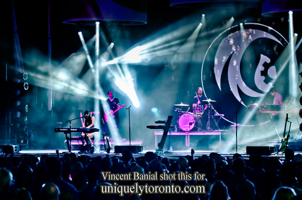 Photo of the  LIGHTS concert at the CIBC Pan AM Park, as part of Panamania. Photo credit  Vincent Banial