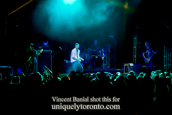 Photo of the Scott Weiland and the Wildabouts concert at the CNE bandshell on Aug 29 2015. Photo credit Vincent Banial