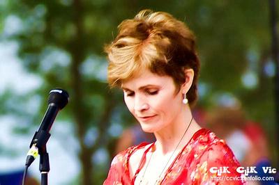Photo of Alannah Myles at Woodbine Park. Photo credit Vincent Banial