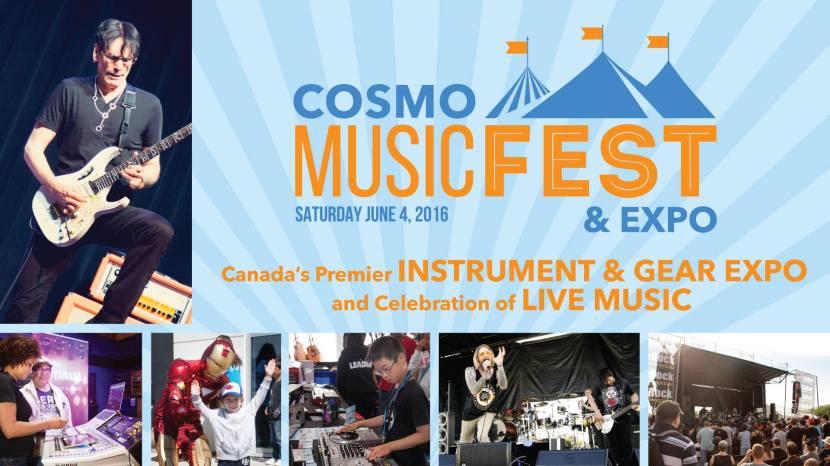 Cosmo MusicFest & Expo Sat June 04 2016
