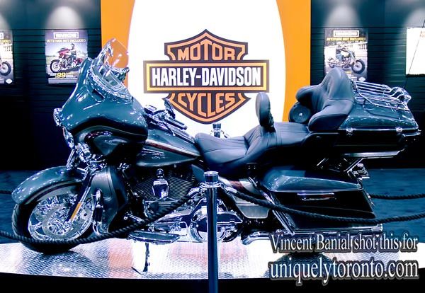 Photo of Harley Davidson at the 2016 North American International Motorcycle Supershow in Toronto