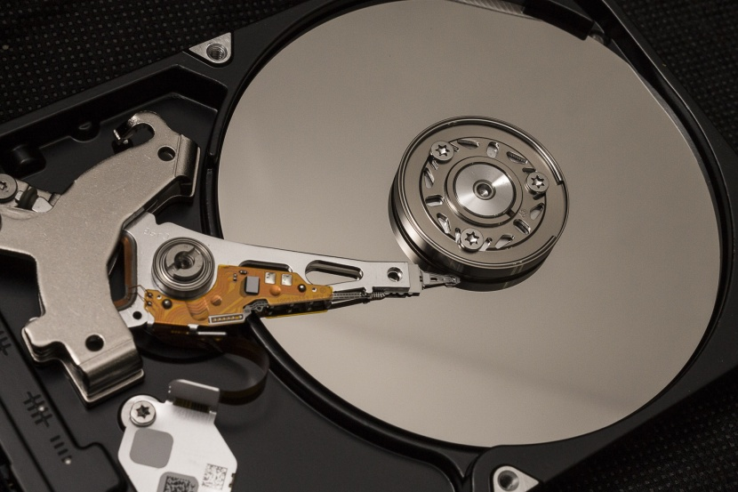 Photo of a Hard Drive in Public Domain from http://www.publicdomainpictures.net