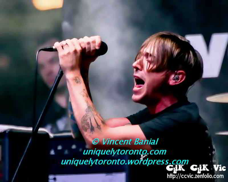 "Photo of ""Billy Talent"" Photo credit Vincent Banial"