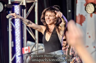 """""""Lights"""" in concert in Vaughan Canada Day 2015. Copyright Vincent Banial"""