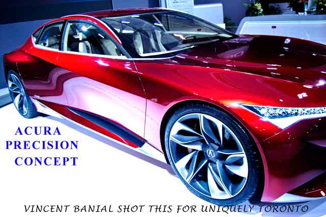 Photo of the Acura Precision Concept taken by Vincent Banial
