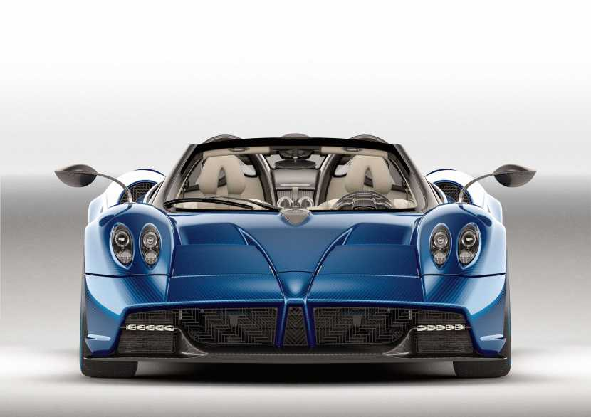 Photo of Pagani Huayra Roadster front view