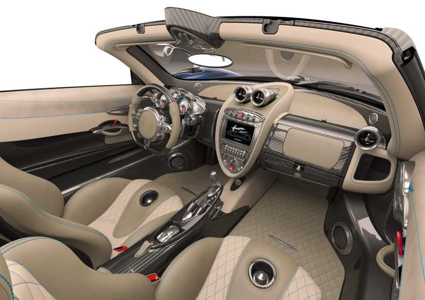 Photo of Pagani Huayra Roadster interior view