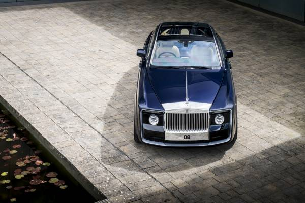 Photo of a Rolls-Royce Sweptail courtesy of Rpolls-Royce Motor Cars