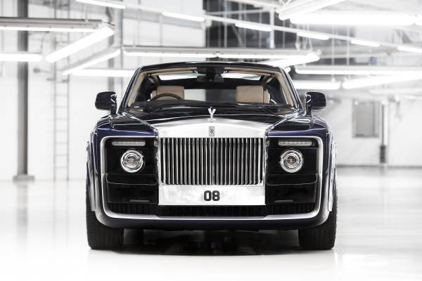 Photo of the Rolls-Royce Sweptail is courtesy of Rolls-Royce Motor Cars.