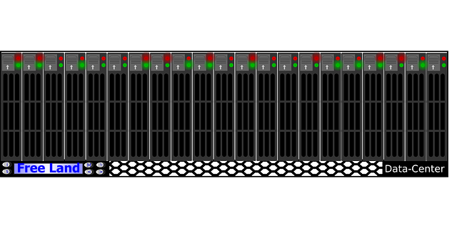 Graphic of a computer data centre courtesy of http://www.urltarget.com